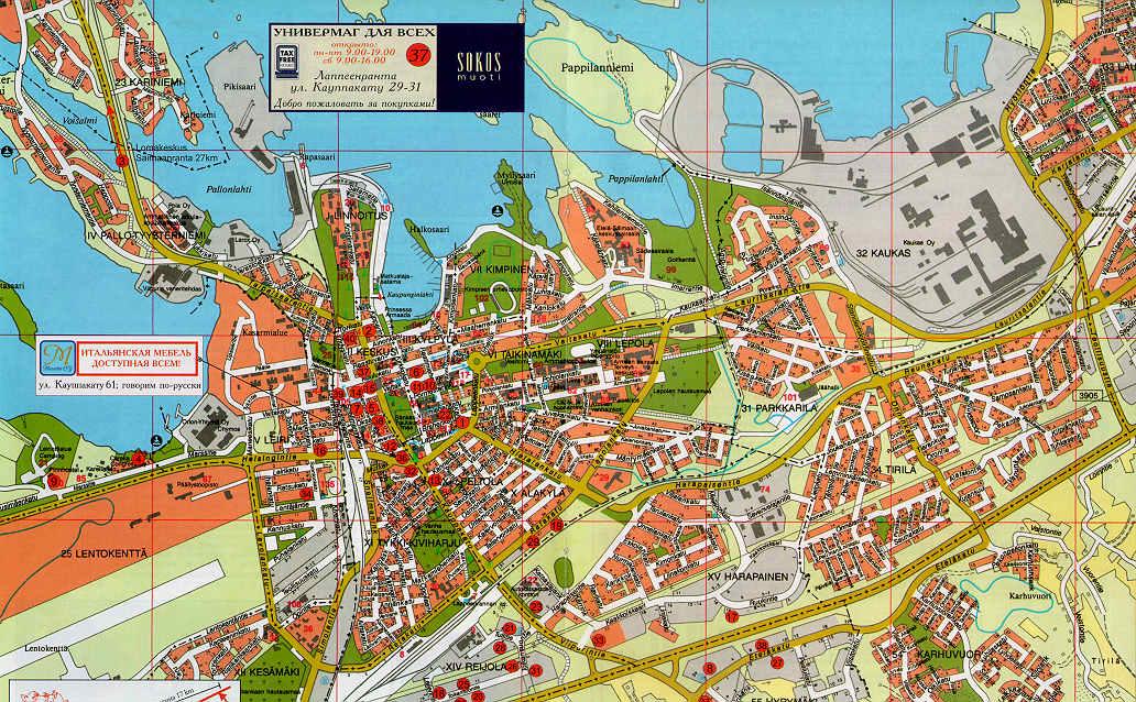 Карта Лаппеенранты Для Андроид